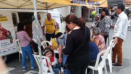ABCD participa do Novembro Azul com três ações preventivas de câncer bucal