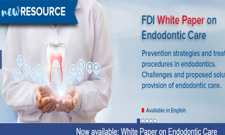 FDI: Endodontia deve preconizar impacto na saúde e bem-estar