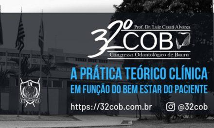 32º Congresso Odontológico/FOB-USP: inscrições abertas