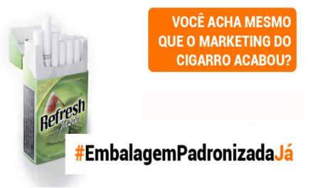 Aprovado: embalagem padronizada reforça proibição de aditivos