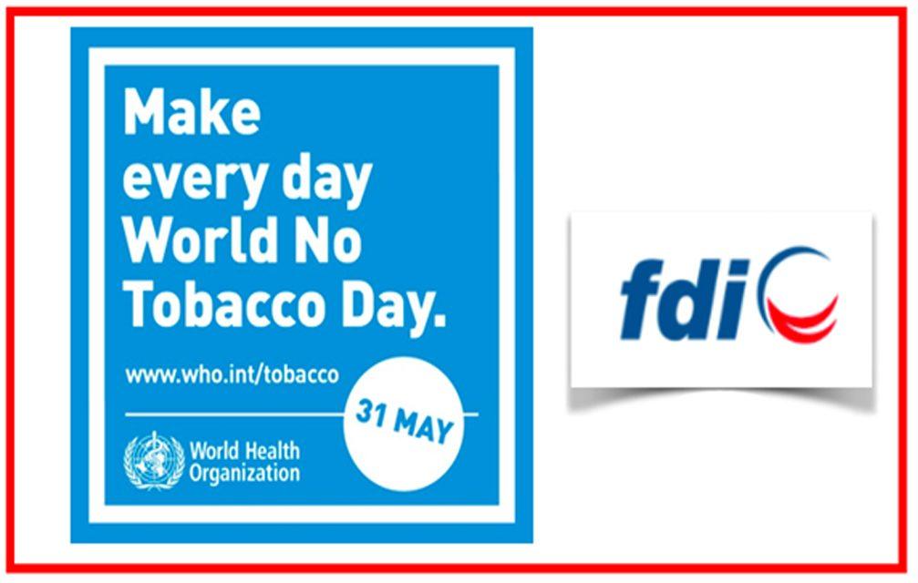 FDI: 31 de Maio, Dia Mundial Sem Tabaco