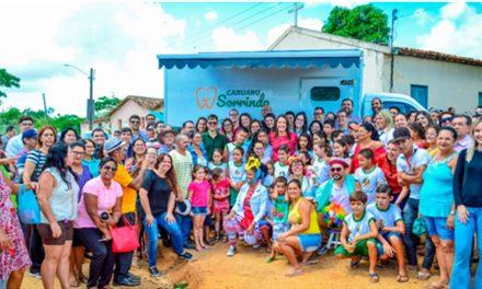 Odontomóvel Comunidade chega ao Sitio Saguim, em Caruaru (PE)