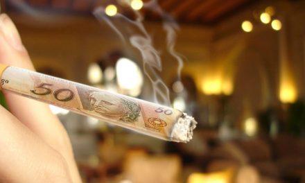 1 maço de cigarro a menos/dia é = a R$ 30 mil na sua conta