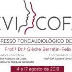 FOB-USP: Congresso de Fonoaudiologia, de 14 a 17 de agosto