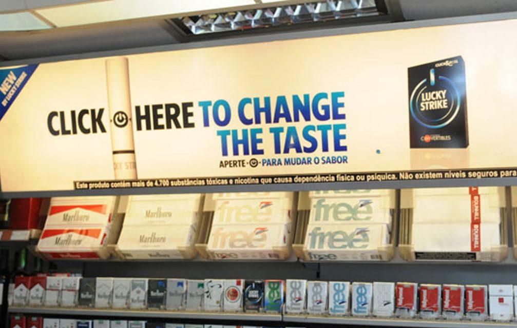 TABACO 1: PL aprovado proíbe propaganda de cigarro