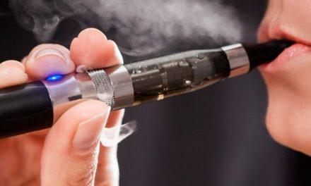 Cigarro eletrônico é perigoso até desligado