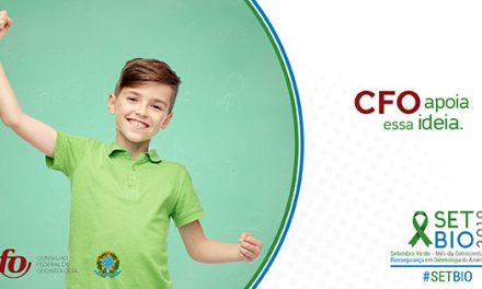 CFO: Campanha de Biossegurança no Setembro Verde