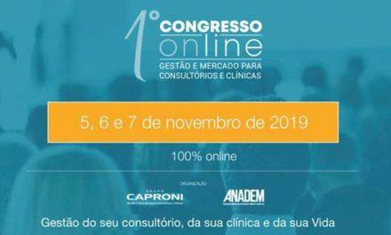 1º Congresso Online de Gestão de Mercado: Hoje, 6/11 a partir das 20h00
