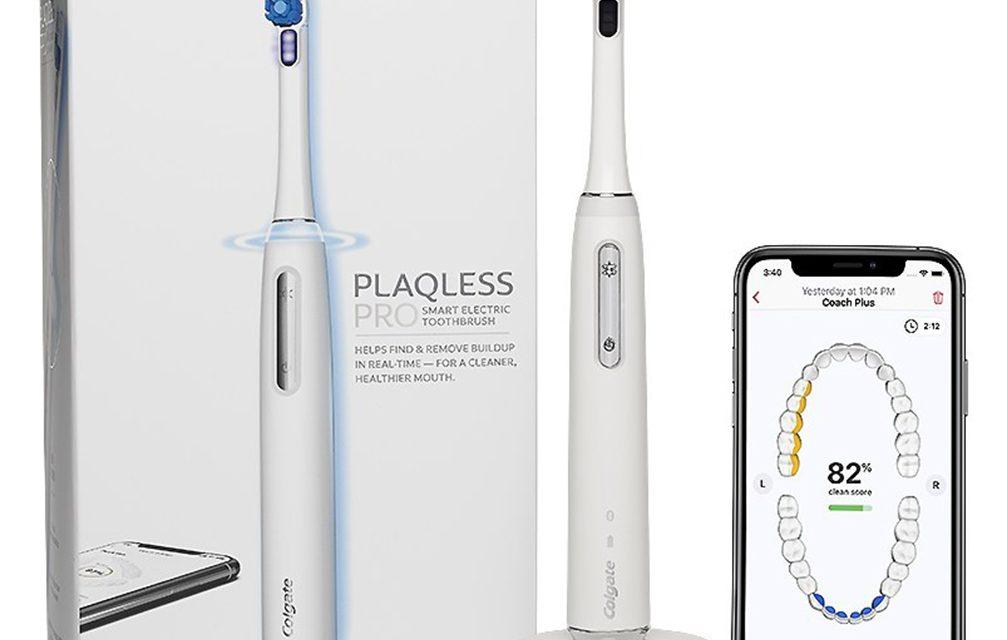 Colgate lança escova elétrica que detecta biofilme na boca