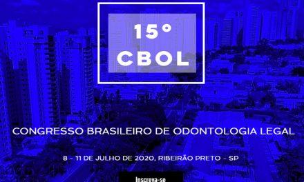 8 a11/7: CBOL 2020 -Odontologia Legal em pauta na USP R.Preto