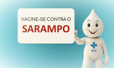 MS: Campanha contra Sarampo: vacine crianças e jovens até 13/3