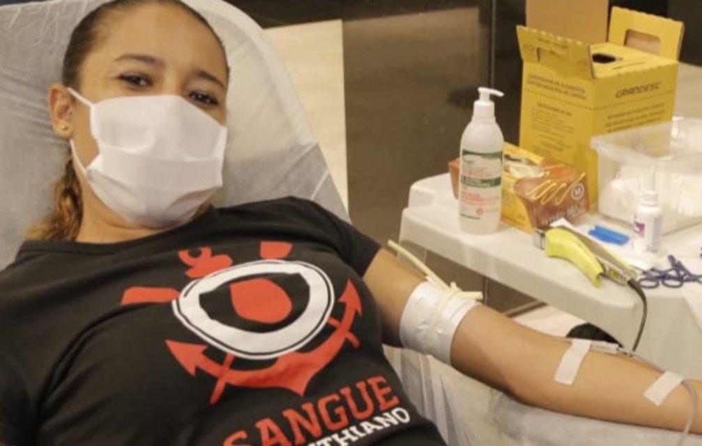 """Campanha de doação """"Sangue Verde e Amarelo"""""""