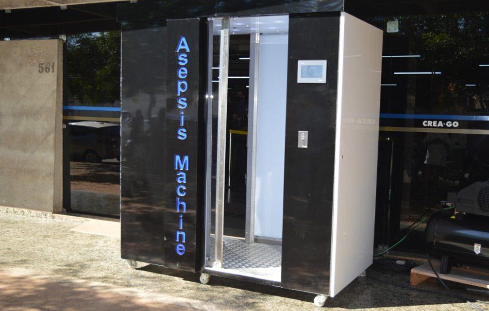 Máquina de desinfecção para hospitais, empresas e comércio