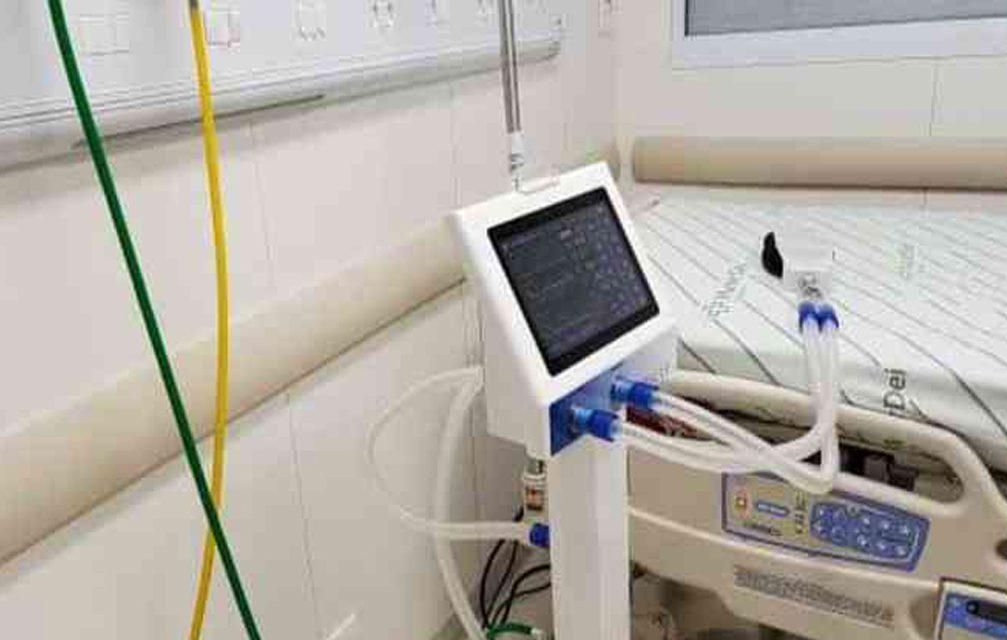 Ventilador pulmonar será produzido em larga escala