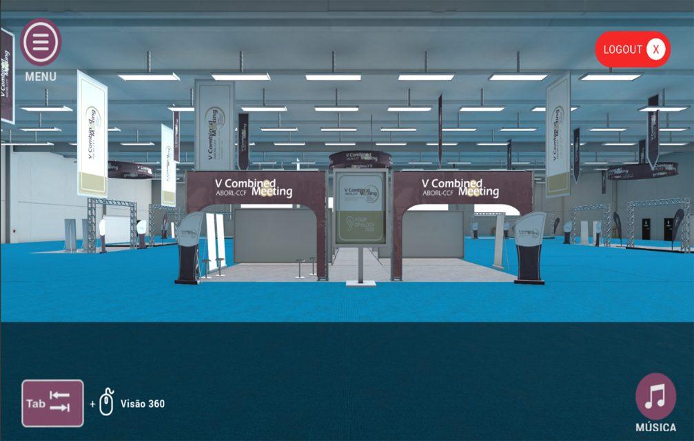 Plataforma permite realização de congresso virtual