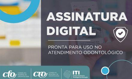 Parceria CFO e ITI e CDS ganham assinatura digital