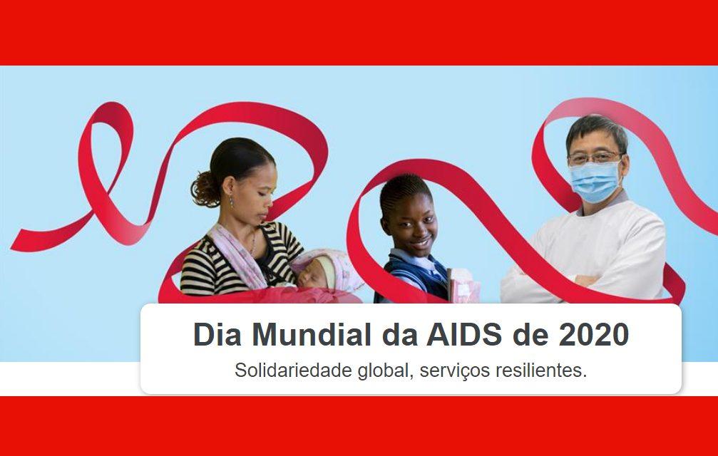 1/12: Dia Mundial da AIDS de 2020