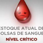 Estoques de sangue no Brasil estão em baixa