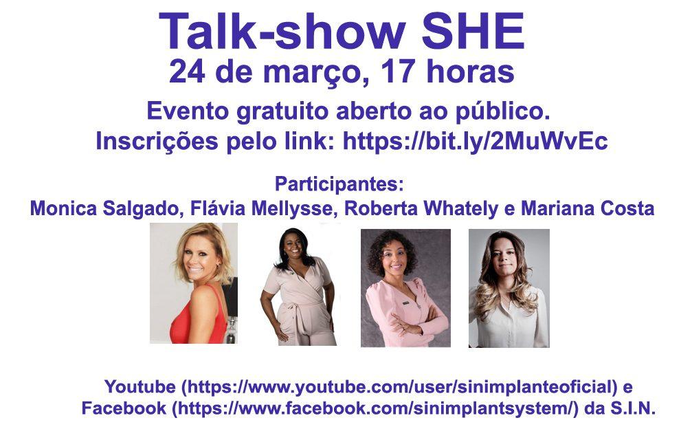 'SHE' reúne mulheres incríveis e inspiradoras em evento online e gratuito