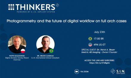 Thinkers reúne na próxima sexta (23/7) membros da comunidade científica internacional em avançados debates sobre Odontologia