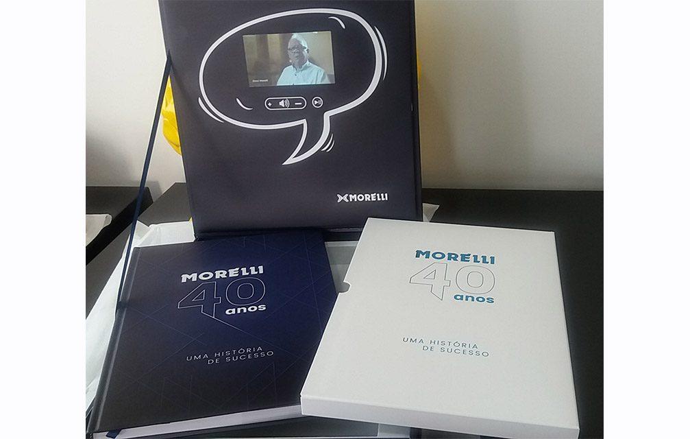 Dental Morelli comemora 40 anos com livro que conta sua história